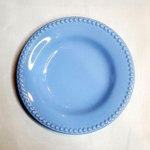 Pottery Barn Emma blue salad plate